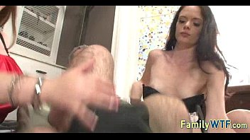Mom and daughter threesome 1085