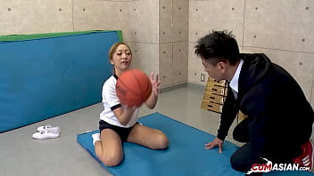 Japanese Schoolgirl Teen Fucked by her Personal Trainer [UNCENSORED]