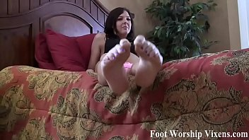Stroke it for my perfect feet