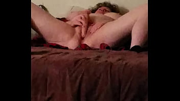 Wife and 10 inch vibrator 4 min