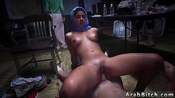 Muslim orgasm Sneaking in the Base! 5 min