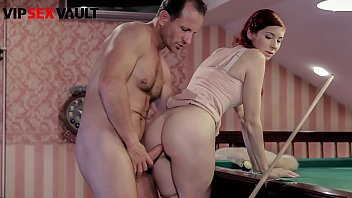 VIP SEX VAULT - #Kattie Gold - Big Booty Czech Teenager Pool Tabel Sex With Sugar Daddy