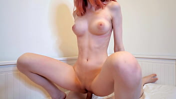 Hot Redhead Girl Swallows Cum After Hard Fuck - Cum in Mouth porno izle