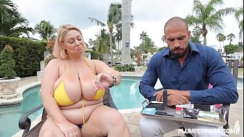 Xxx plumper - Bbw legend samantha 38 wear yellow bikini in xxx scene