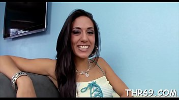Delightsome beauty is having lusty enjoyment with dudes divine rod