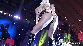 facesitting on public sex fair show stage thumbnail