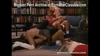Fine babe sex photo Jeanna fine teaches foursome in the library