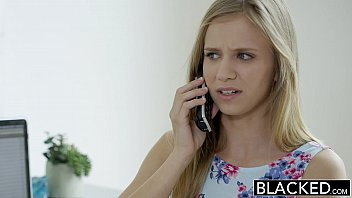 BLACKED Petite blonde teen Rachel James first big black cock 11 min