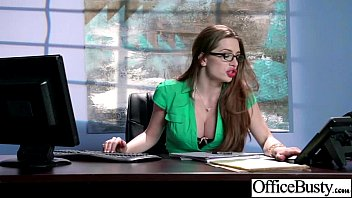 Bigtits Office Girl (veronica vain) Banged Hardcore movie-30