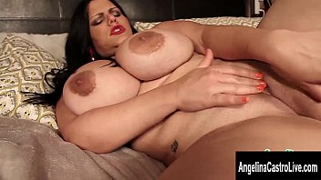 Wet latina pussy solo - Big tit cuban angelina castro fingers her wet pussy