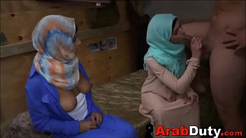 Arab Girls In Hijabs Treated To Western Soldier Cock pornhub video
