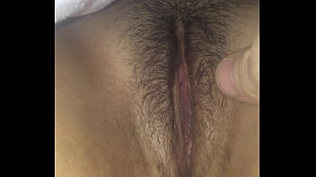Sleeping Latinas wet pussy