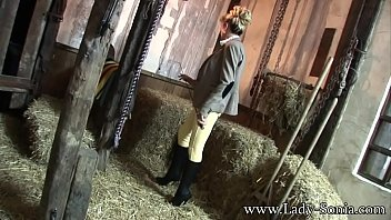Lady Sonia Showing The Young Stable Boy My Cunt 13 min