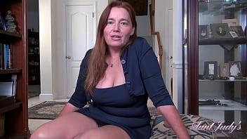 AuntJudys - 48yr-old Texas Amateur Redhead Natasha SUCKS YOUR COCK (VPOV)