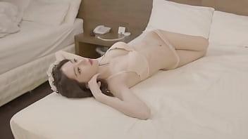 Korean porn models - 公众号91报社韩国模特白色蕾丝唯美写真1