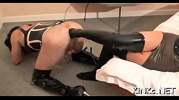 Mistress carmen rivera ties up her bondman indeed hard
