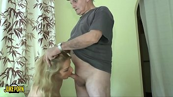 Old men wakes up fucked young woman who could be his granddaughter
