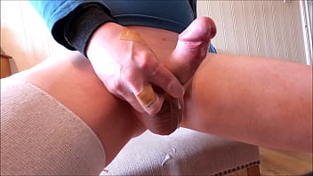 """My solo 213 (Cock floppy to stiff then intense cumload) <span class=""""duration"""">2 min</span>"""