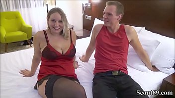 First Time User-Date for German Amateur Teen BBW and Facial - SexyLina das erste mal mit einem User von Scout69 gefickt