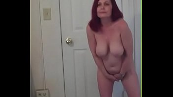Mature amateurs posing naked Redhot redhead show 4-8-2017