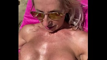 Marina Beaulieu, 59 years old, playing with dildo in south  France thumbnail