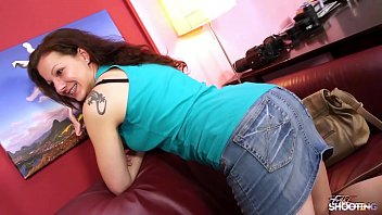 FakeShooting Curly hair redhead love to be fucked on fake casting