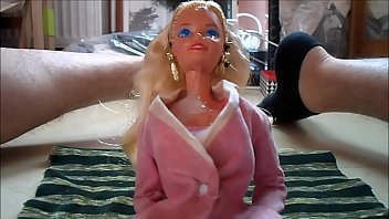 Buy 1959 vintage barbie doll Cum on barbie face