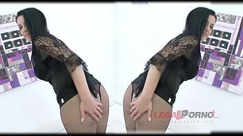 Big Butt Slut Alex Black Dap'ed & Fucked By 3 Guys For Legal Porn Sz895
