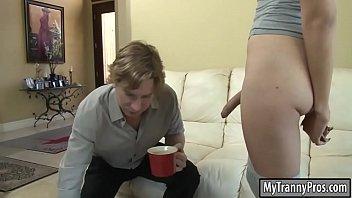 Pretty shemale Alexa Scout anal pounding