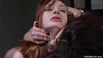 Shemale nurse anal fuck redhead patient