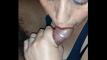 My neighbor pays me with a blowjob