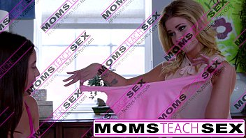 MomsTeachSex - Showing My Teen Daughter How To Suck Big Cock image