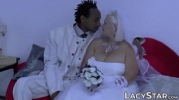 GILF Bride Screwed And Facialized By BBC Groom