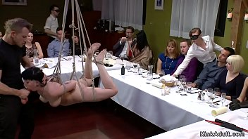 Poured in food sub public anal banged