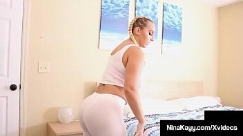Doggy Drilled PAWG Nina Kayy Pussy Fucked By Curvy Hottie Jalisa Elite 6 min