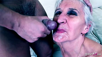 82yr old Granny Pickup and Fuck by 19yr old Teen Guy