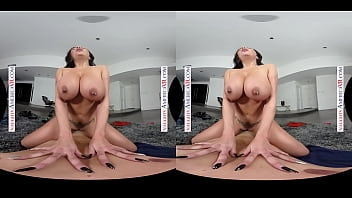 Naughty America - Sheridan Love Rubs Up And Down Your Cock Until It Explodes