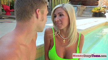 Mommy Watches Stepteens First Time Anal