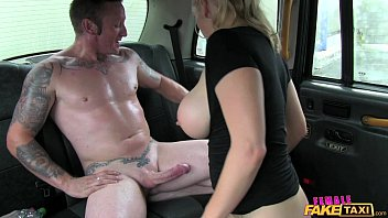 Female Fake Taxi Old flame taken on a detour ride