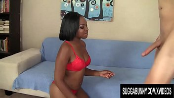 Lively Black Girl Nikki Ford Blows a White Cock and Then Fucks It Good