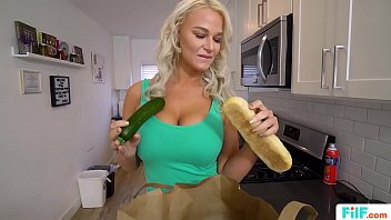 FILF - MILF London River Fucking The New Delivery Boy