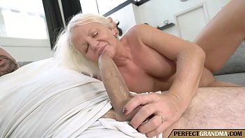 Granny Sucking Cock And Having Sex Like A Bitch