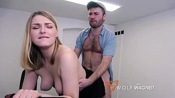 BUTT FUCK TIME!! She opens her legs I BANG her BUTT:  LUCY HEART (FULL SCENE) - WolfWagner.Com