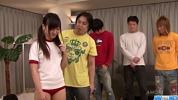 Asian Ryo Asaka sure loves fucking in group