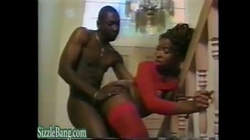 Big Tits Ebony Milf Fucked by not her Black Brother porno izle