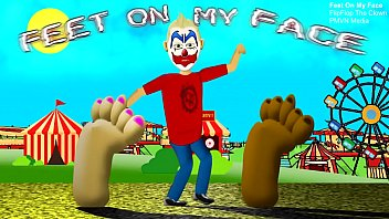 Feet On My Face by FlipFlop The Clown (Foot Fetish Rap Song)