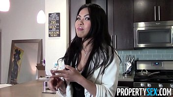 PropertySex - Beautiful Asian real estate agent horny fucks her client