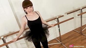Trans Ballerina Natalie Mars in POV