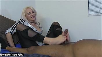 Vicky Vixxx Fantasy Foot Job Cum True!