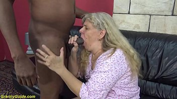 Free slut granny movies - First time interracial fuck for 71 years old granny